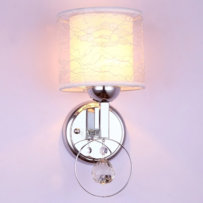Wall lamp bedside lamp modern minimalist creative led wall lamp bedroom living room staircase Chinese aisle crystal wall lamp only minimalist modern creative bedside lamp led wall lamp mirror front lamp aisle lighting fixtures wall lights led