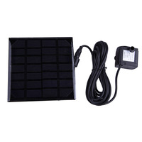 New Arrival 7V 1.12W Solar Water Fountain Pump for Pond Fish Tank GY-D-001-MA FG