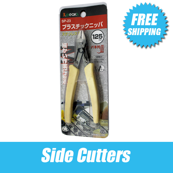 Free Shipping Side Cutters,Jewelry Making Cutters,stainless Steel Repair Tools,125mm Long Goldsmith