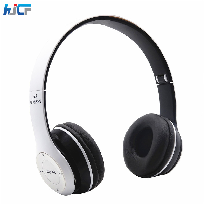 Quality Bluetooth Headphone Wireless Headsets Stereo Headphones Headband Music Player for IPhone Android Phone