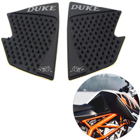 Moto Parts Tank Pad Protector Sticker Decal Gas Knee Grip Tank Traction Pad Side For KTM