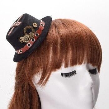 Шляпка в стиле стимпанк с очками в ассортименте