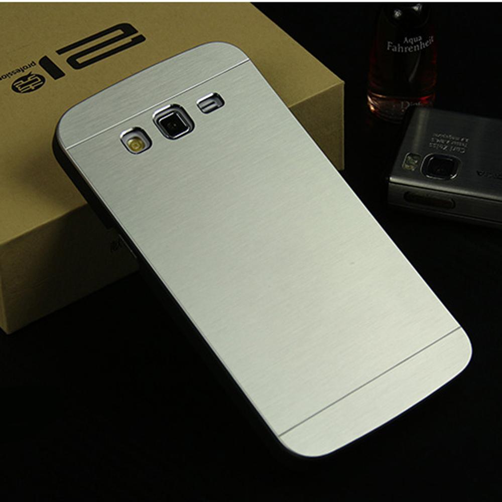 e76cb2d9de Di lusso cassa del metallo spazzolato per Samsung Galaxy Gran 2 G7106 G7108  G7102 di alluminio