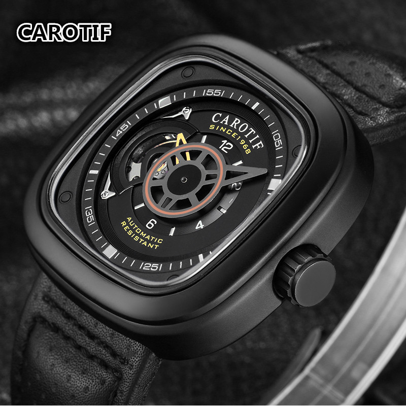 Luxury Brand Men's Automatic Mechanical Wrist Watch Reloj Hombre Tourbillon Men Watches Montre Male Clock erkek kol saati sewor full calendar tourbillon auto mechanical mens watches top brand luxury wrist watch erkek kol saati montre homme
