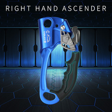 XINDA 2018 New Outdoor Sports Rock Climbing Right Hand Ascender Device Mountaineer Handle Ascender Climbing Rope Tools