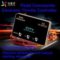 Автомотоклуб педаль настройки аксессуары автомобиль электронные приемистость регулятор скорости для NISSAN NOTE E11 E12 2005,1 +