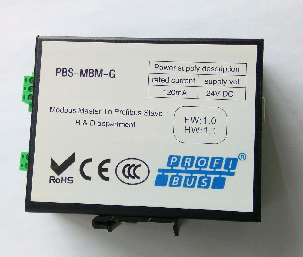 Modbus RTU To Profibus DP Gateway Industrial Dual Isolation
