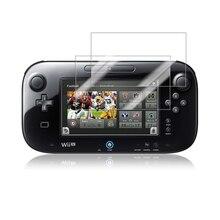 2 adet Anti Scratch LCD ekran koruyucu kapak için Nintendo Wii U için parlama önleyici şeffaf ekran koruyucu koruyucu Film wii U için