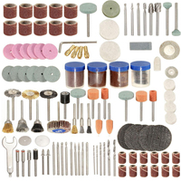 New 166pcs Rotary Tool Kit Accessory Set Fits For Grinding Sanding Polishing Tools