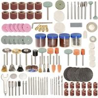 New 166pcs Rotary Tool Kit Accessory Set Fits For Grinding Sanding Polishing Tools