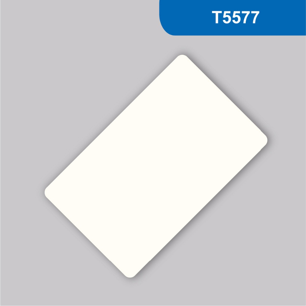 RFID ISO PVC Card 125KHZ 330 BITS R/W ATMEL ISO18000-2 with T5577 Chip