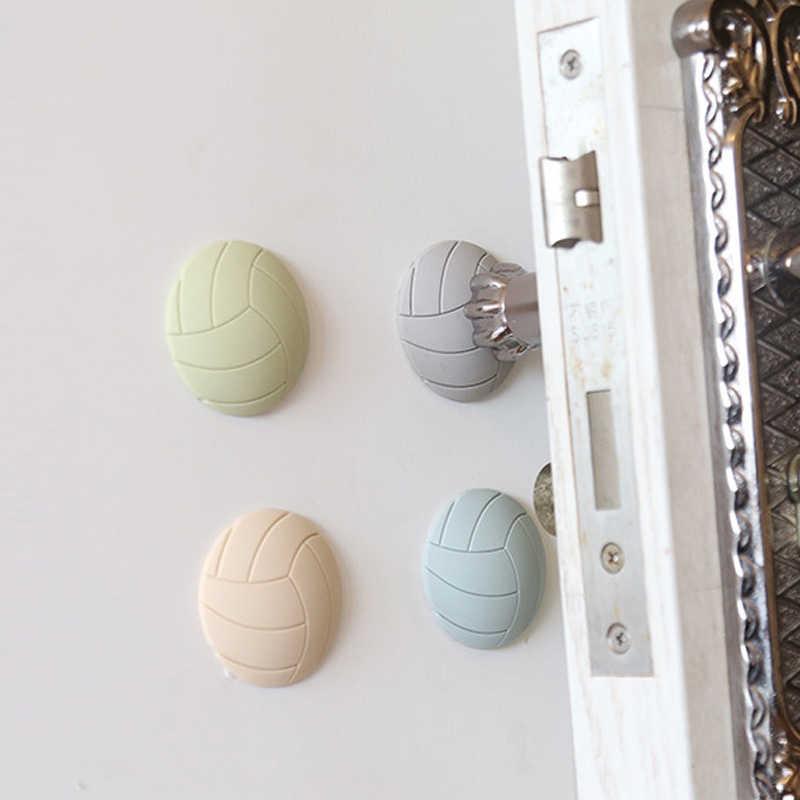 Bantalan Karet Lembut untuk Melindungi Dinding atau Lantai DIY Diri Perekat Pintu Stopper Bola Voli, Pintu Fender Non- slip Stiker