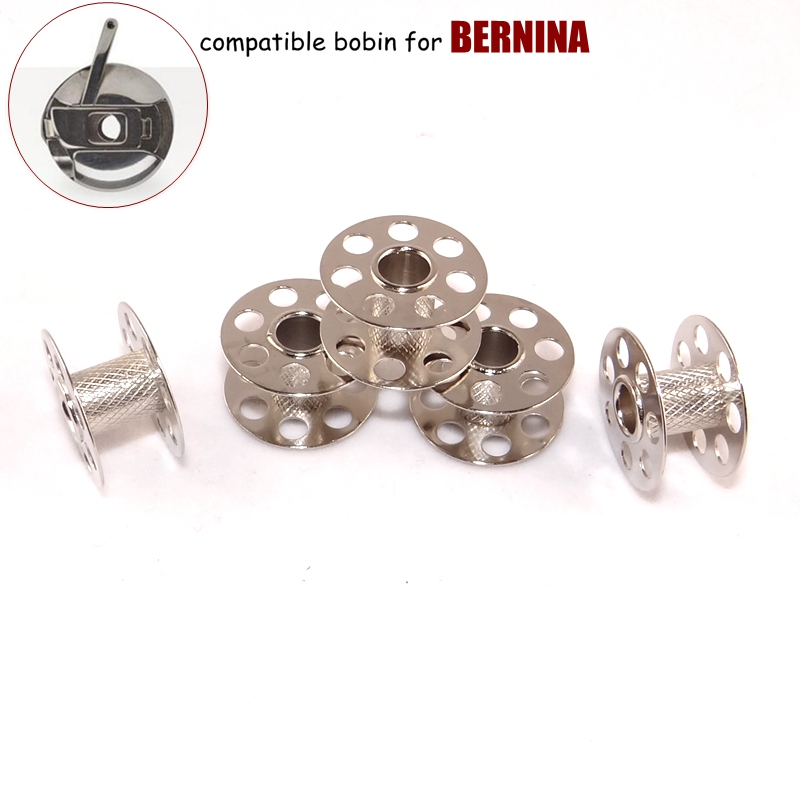 Sewing Machine Parts Accessories Accessory Part Bobin Bobins 5pcs/lot fit for Domestic Household Home Sewing Machines Bernina