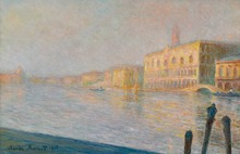 Oil Canvas Painting Monet  the palace ducal Reprouduction Printed On Canvas Oil Painting For Living Room Decoration Suppliers