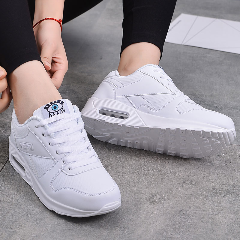 MWY Shoes Woman Sneakers  Solid Colors Leisure Female Zapatillas De Mujer Breathable Women Casual Shoes Ladies Platform Shoes