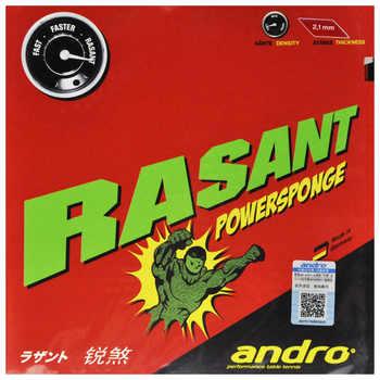 Original Andro Table Tennis Rubber Rasant Powersponge Pimples In Ping Pong With Sponge Tenis De Mesa - DISCOUNT ITEM  10% OFF Sports & Entertainment
