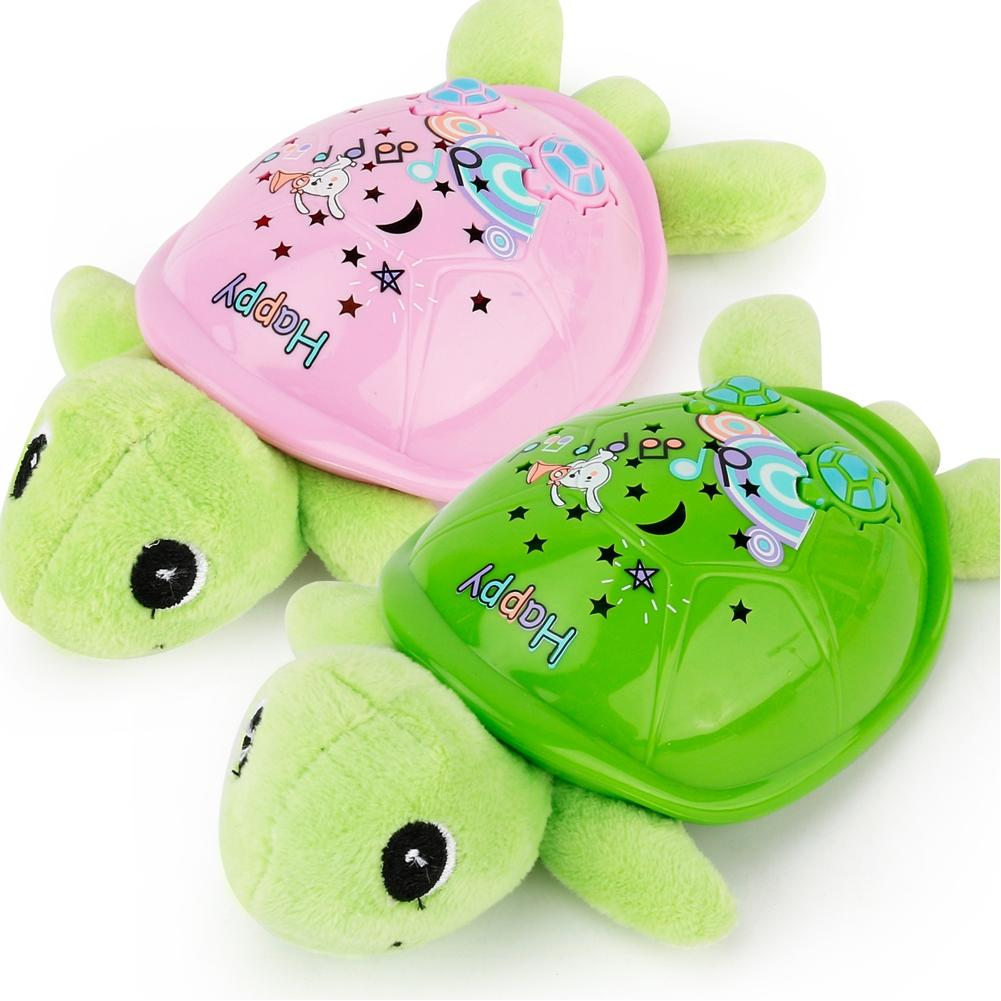 LeadingStar Cartoon Music and Light Turtle Toy with Star Projection Function Infant/Baby/Children Electronic Toy zk 30