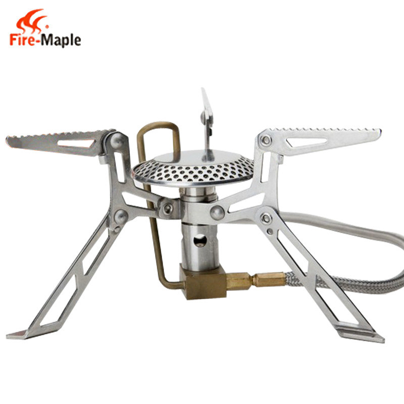 Fire Maple FMS-118 Split Stove Outdoor Camping Picnic Portable Gas Stove Stainless Steel Cookware