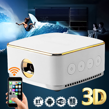 DLP DL-S8 DLP LED Wifi Portable Office Home Cinema projector For Home TV