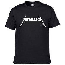 Metallica hard metal rock band Men s T Shirt T Shirt For Men Short Sleeve Cotton