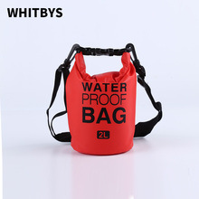 Whitbys Αδιάβροχη τσάντα αποθήκευσης 5 χρώματα που χρησιμοποιούνται σε Surfing ψαρόβαρκα Rowboat ή υπαίθρια πικνίκ καγιάκ καγιάκ Floating ξηρή τσάντα