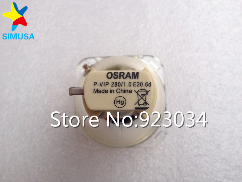 Quality Original Projector Bare Bulb/Lamp 5J.06W01.001 for  BENQ MP723 / MP722 / EP1230 projector lamp bulb 5j j8g05 001 for benq mx618st 100
