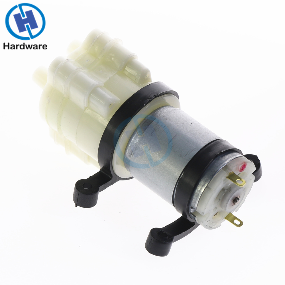 1pc New Miniature Micro Diaphragm Water Pump Spray Motor DC12V Easy Install Fresh Water Pump Self Priming Pump 90*40*35mm