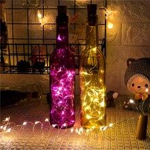 10Pcs 2M LED Bottle Cork Lights