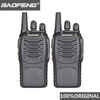 מכשיר הקשר 2pcs 100% המקוריים Baofeng 888S מכשיר הקשר נייד רדיו CB משדר כף יד Communicator רדיו מלון BF-888S תחנה (1)