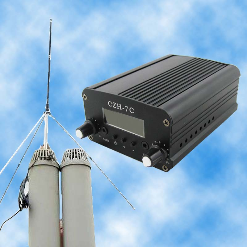 CZE-7C  5w FM stereo PLL transmitter+GP antenna +Powersupply KITCZE-7C  5w FM stereo PLL transmitter+GP antenna +Powersupply KIT