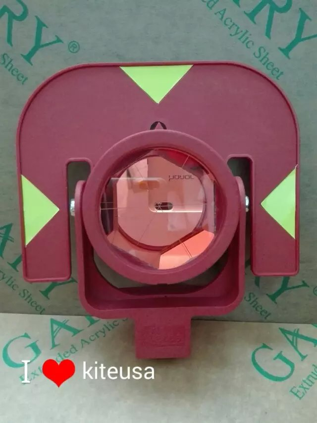 Replace RED singal PRISM GPR111 Red Color Prism For Total StationsReplace RED singal PRISM GPR111 Red Color Prism For Total Stations