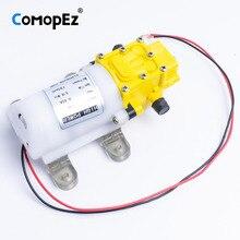 Высокое качество 5L/Min DC12V 2.5A мембранный Водяной насос маленький безопасный насос высокого давления самовсасывающий 0.8Mpa