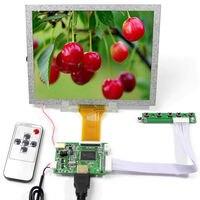 """Tüketici Elektroniği'ten Yedek Parçalar ve Aksesuarlar'de 8 inç 800x600 LCD panel 8 """"EJ080NA 05A çalışma ile HDMI LCD denetleyici kurulu VS TY50 V2 uzaktan kumanda ile"""