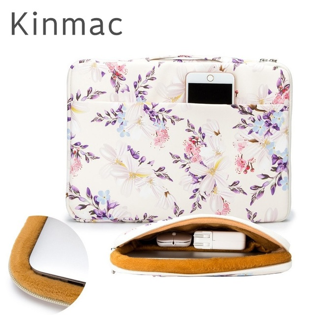 2019 New Brand Kinmac Handbag Sleeve Case For Laptop 13,14,15,15.6,Notebook Bag For MacBook Air Pro 13.3,15.4 Free Drop Shipping