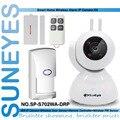 SP-S702WA-DRP SunEyes 720 P HD IP Sem Fio Da Câmera Kit De Alarme com 1 pcs Sensor de Porta + 1 pcs controle remoto + 1 pcs Sensor PIR