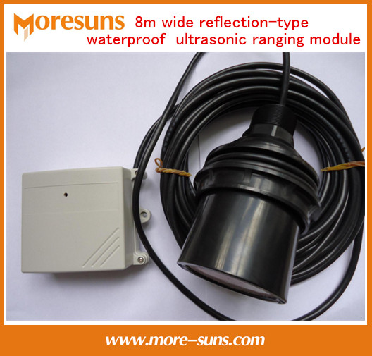 Fast Free Ship 8m wide range/ remote reflection-type waterproof  ultrasonic ranging module