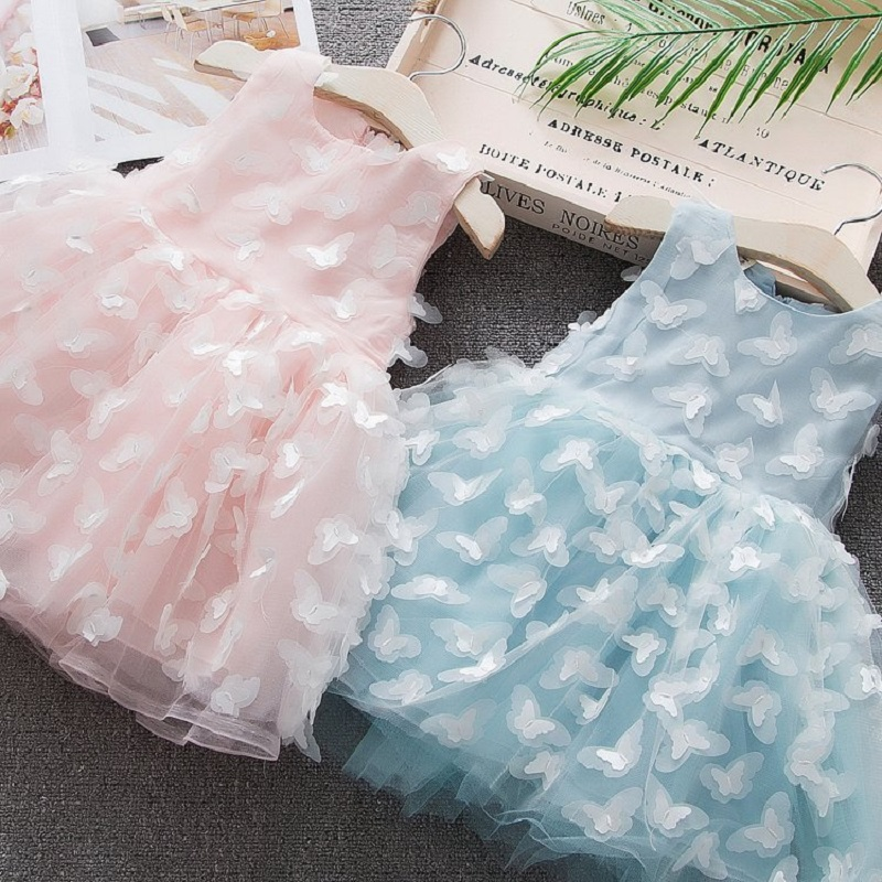 2019 New butterfly Baby Girl Dress  1-5 Years Baby Girls Birthday Dresses infant summer Vestido birthday party princess dress2019 New butterfly Baby Girl Dress  1-5 Years Baby Girls Birthday Dresses infant summer Vestido birthday party princess dress