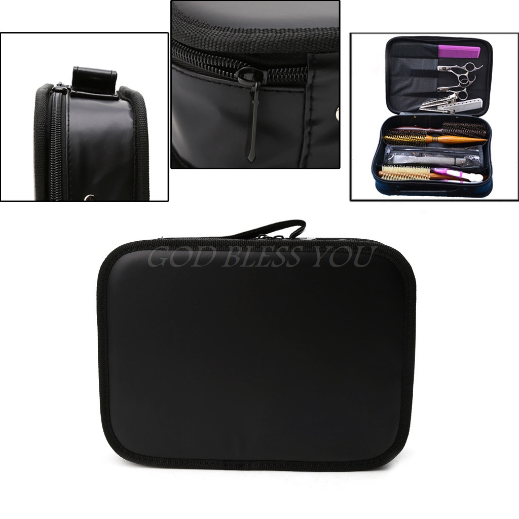 Free Shipping Hair Salon Barber Hairdressing Scissors Comb Tool Storage Pouch Bag Case Holder professional hair tool bag salon portable comb tool case for hair styling tools storage pu leather hair scissors bag
