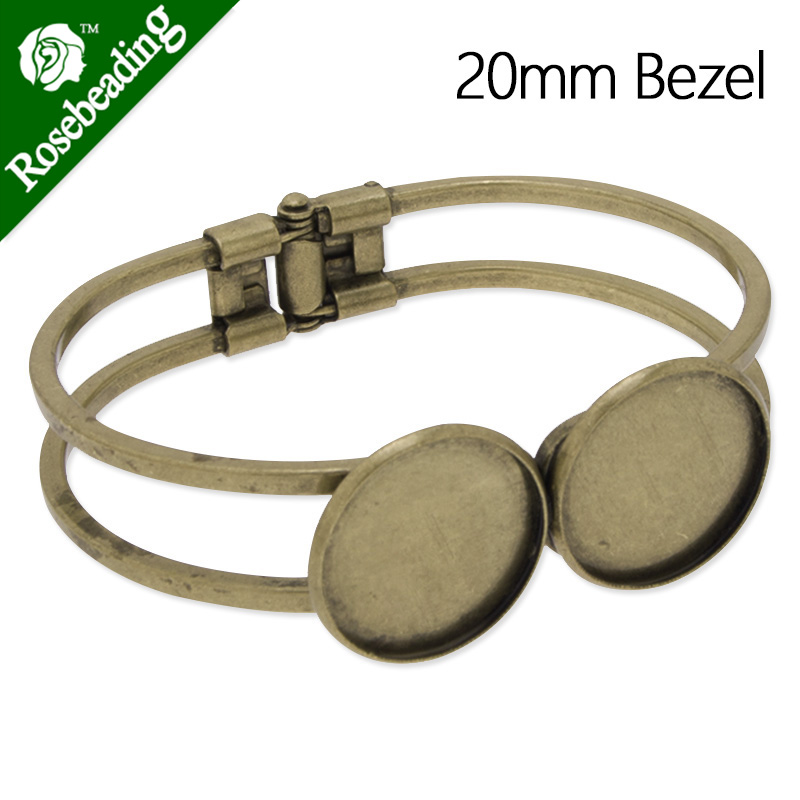 10Pcs 16MM Round Shallow Bottom Pad Cufflink Findings Cuff Link Blank Back Bases