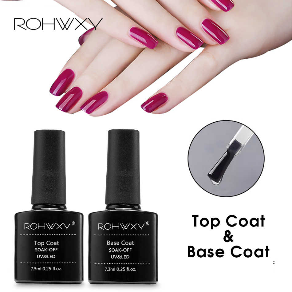 Detail Feedback Questions about ROHWXY Top Base Coat Transparent ...