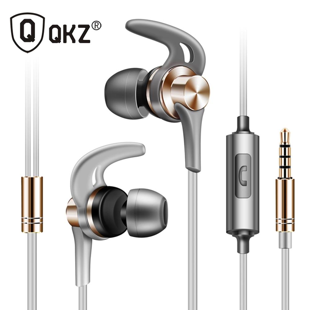 все цены на Original QKZ EQ1 Brand Earphone Super Bass Headset with Microphone for Mobile Phone Earpods Airpods fone de ouvido audifonos онлайн