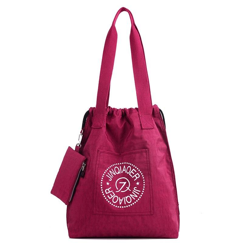 New Fashion Women Brand Waterproof And Lightweight Nylon Shoulder Bag Composite Solid Female Woman Handbag Bag High-capacity