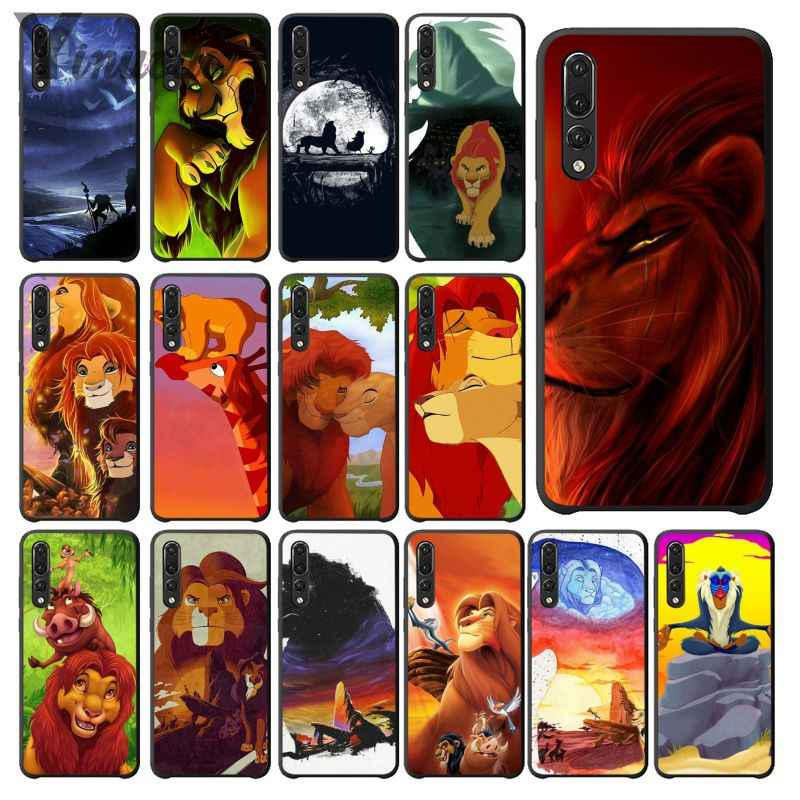 Yinuoda The Lion  King DIY Printing Drawing Phone Case cover Shell for Huawei Mate10 Lite P20 Pro P10 Plus Honor 9 10 Cover