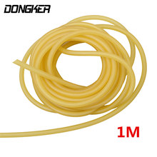 3mm x 6mm Natural Latex Slingshots Rubber Tube 1m Elastic Tubing Band Outdoor Hunting Shooting Catapult Rubber Band Bungee Tool