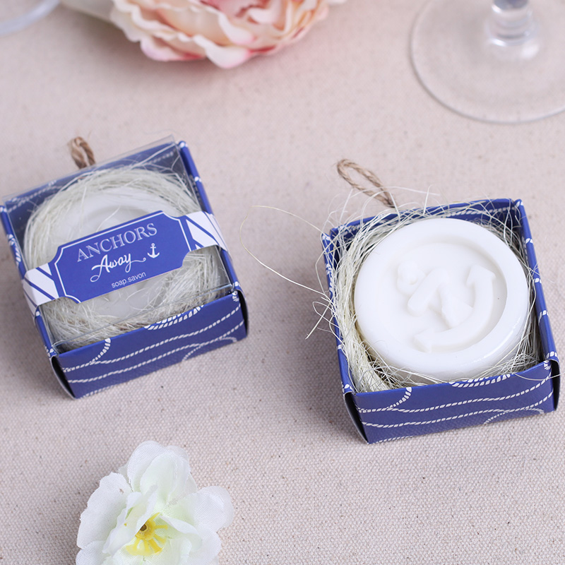 Childrens Wedding Gifts: Anchor Soap In Gift Box Wedding Baby Shower Party Favor