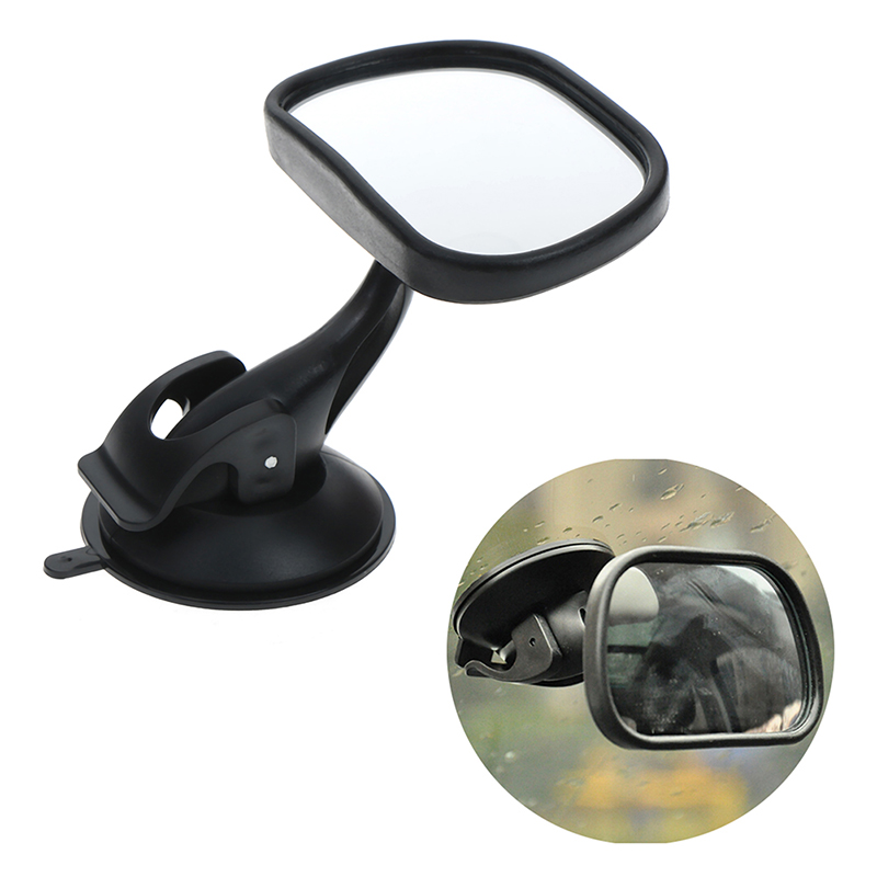 1Set Adjustable Baby Car Mirror Car Safety View Back Seat Mirror Baby Facing Rear Ward Infant Care Square Safety Kids Monitor