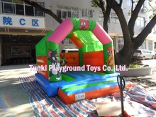 small inflatable castle bouncer