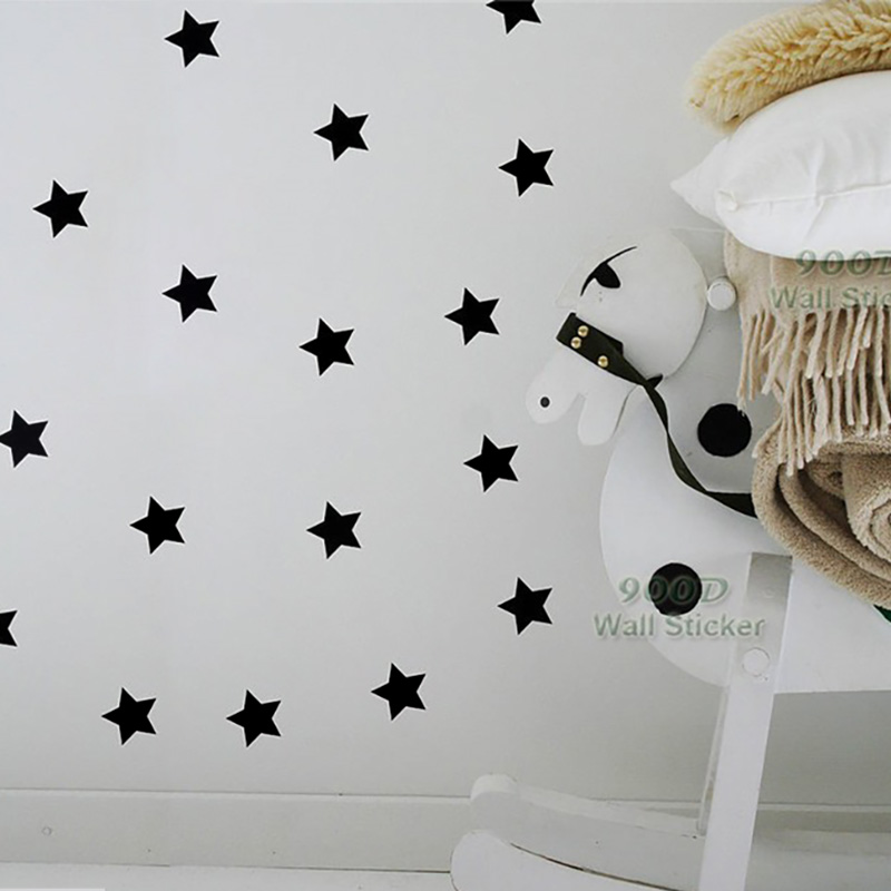 Estrellas Etiqueta de la pared, diy decoración del hogar de la pared del vinilo