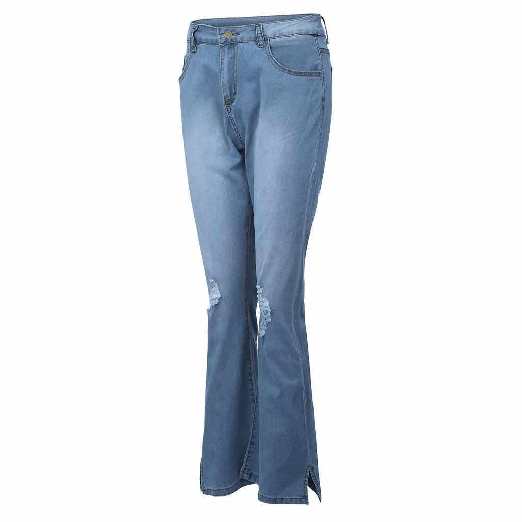 Femmes pantalons d'été 2019 nouveau Stretch Jeans femme taille haute Stretch Slim Sexy crayon pantalon Y515