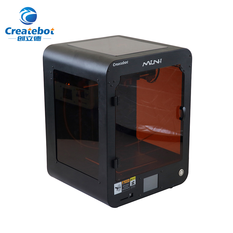 High Quality 3D Printer for Home User Cool Black Single Extruder Touchscreen with Heatbed Createbot 3D Printer sales promotion of createbot single extruder mid 3d printer with touchscreen and heatbed black 3d printer high accuracy